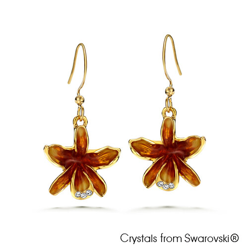 Cattleya Earrings