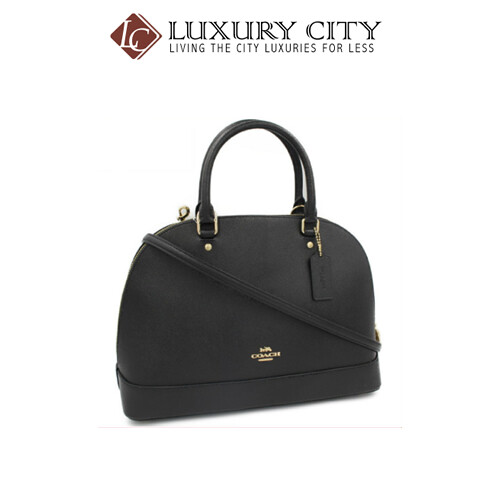 [Luxury City] Coach Sierra Satchel Coach-F27590 (Black)