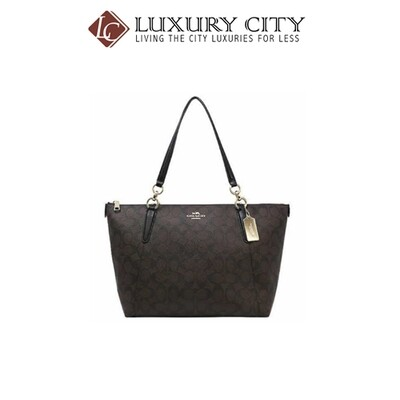 [Luxury City] Coach Ava Tote In Signature Coach-F58318