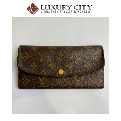 [Luxury City] Preloved Used Louis Vuitton Long Wallet