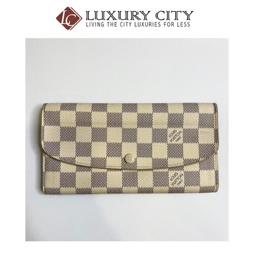 Preloved Used Louis Vuitton Long Wallet