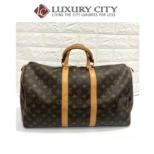 [Luxury City] Preloved Vintage Louis Vuitton Keepall 45''