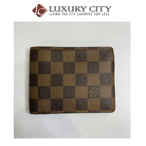 [Luxury City] Preloved Louis Vuitton Man Short Wallet
