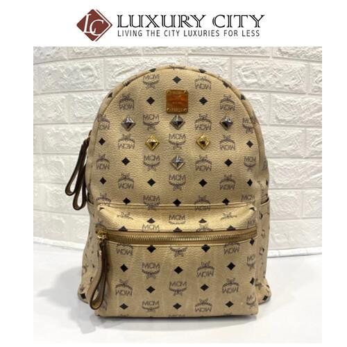 [Luxury City] Preloved MCM Backpack