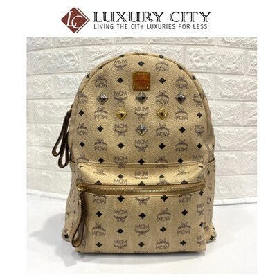 [Luxury City] Preloved MCM Backpack