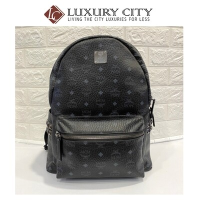 [Luxury City] Preloved Mcm Backpack L Size