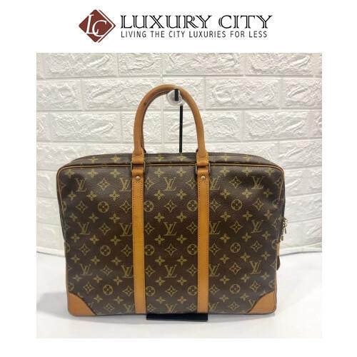[Luxury City] Preloved Vintage Louis Vuitton Porte Document Voyage Bag