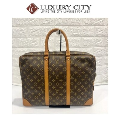 [Luxury City] Preloved Vintage Louis Vuitton Porte Document Voyage Bag