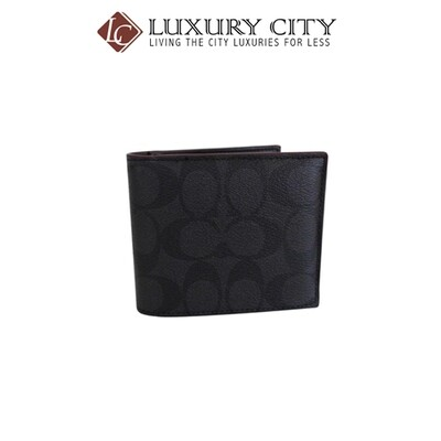 [Luxury City] Coach Compact ID Wallet