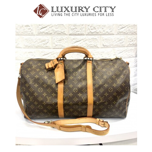 [Luxury City] Preloved Vintage Louis Vuitton Keepall 50''