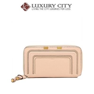 [Luxury City] Chloe' Wallet Marcie Long Zip 3P0571 - Pink