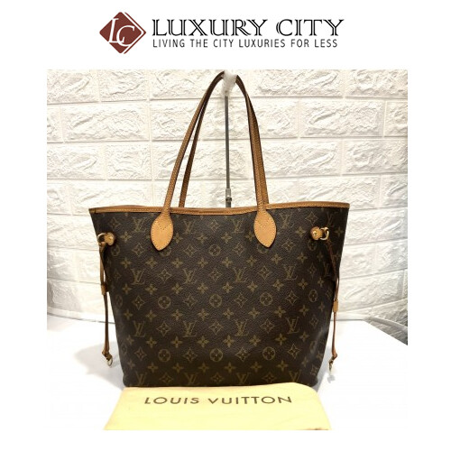 Preloved Used Louis Vuitton Neverfull MM