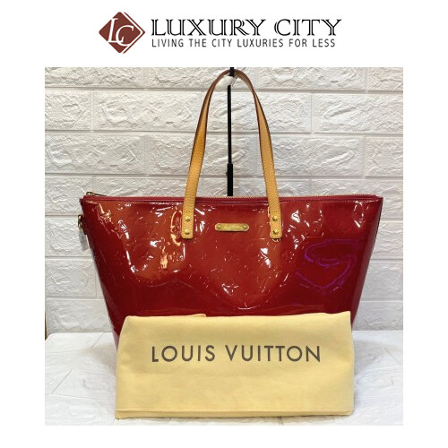 Preloved Louis Vuitton Patent Leather Shoulder Bag