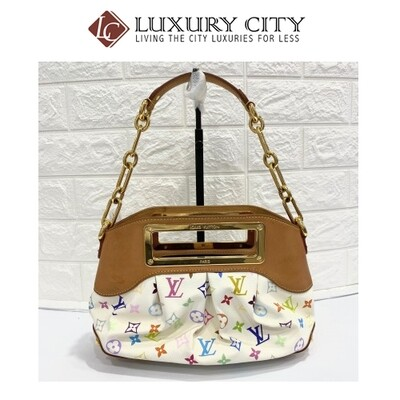 Preloved Louis Vuitton Multicolore Monogram 2 Ways Carry Bag