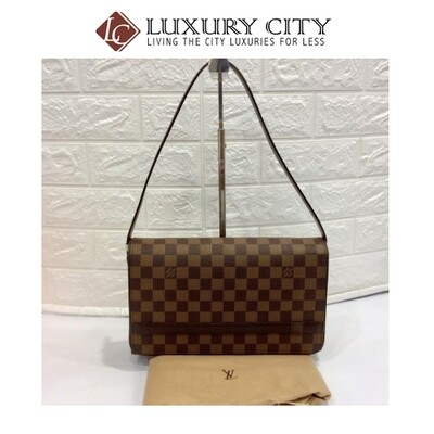 [Luxury City] Preloved Vintage Louis Vuitton Shoulder Carry Bag