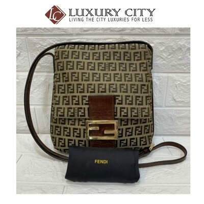 [Luxury City] Preloved Vintage Fendi Sling bag
