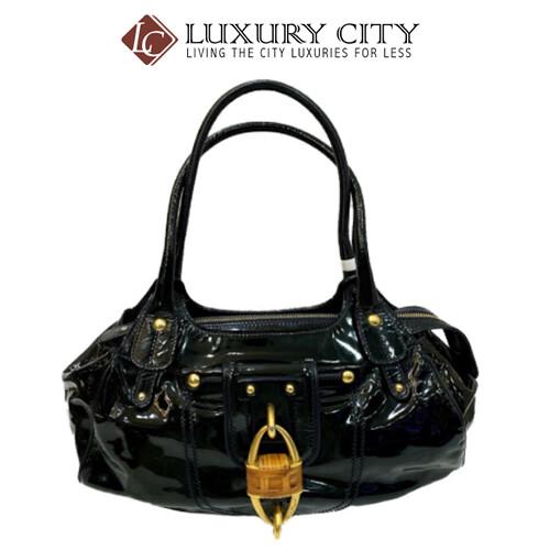 [Luxury City] Preloved Authentic Salvatore Ferragamo Black Handbag