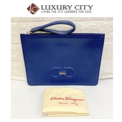 [Luxury City] Preloved Authentic Salvatore Ferragamo Clutch
