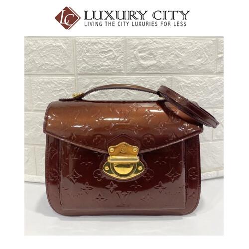 Preloved Louis Vuitton Miranda Handle Patent Leather Bag