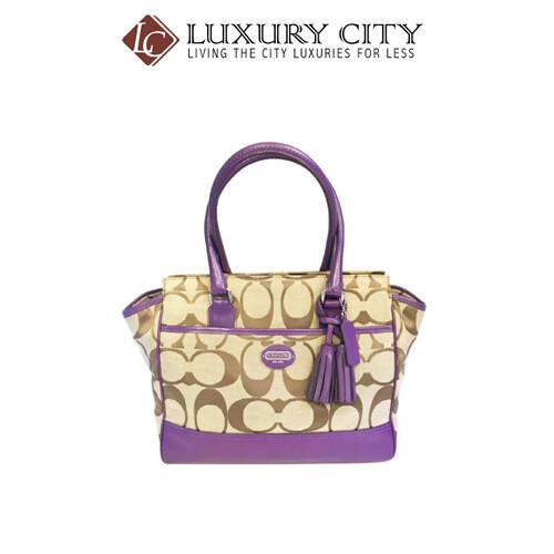 [Luxury City] Preloved Authentic Coach Handbag