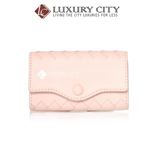 [Luxury City] Bottega Veneta Keyholder Cream