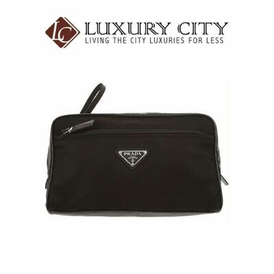 [Luxury City] Prada Men's Black Bags Prada-2NE013