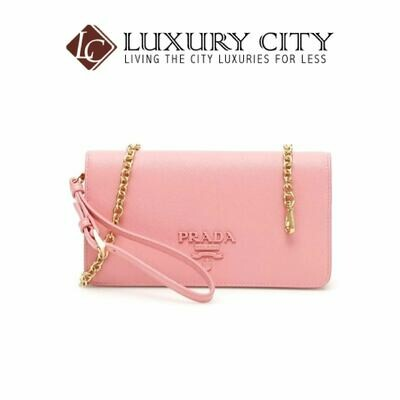 [Luxury City] Prada Mini Saffiano Bag Prada-1DH029 (Light Pink)