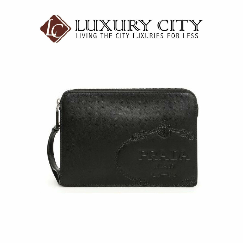 [Luxury City] Prada Saffiano Travel Pouch Prada-2VF056