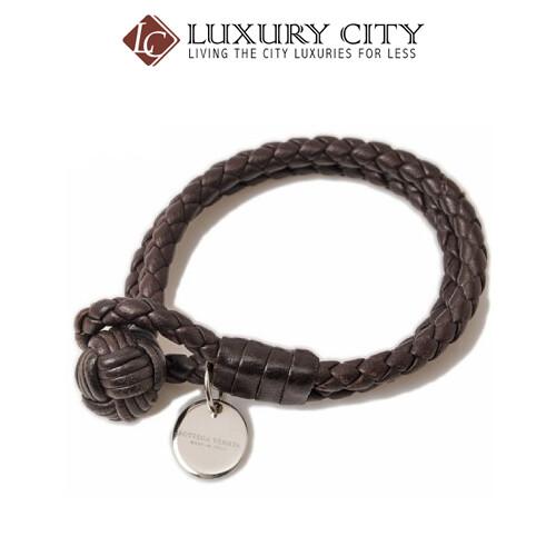 [Luxury City] Bottega Veneta Espresso Intrecciato Nappa Bracelet