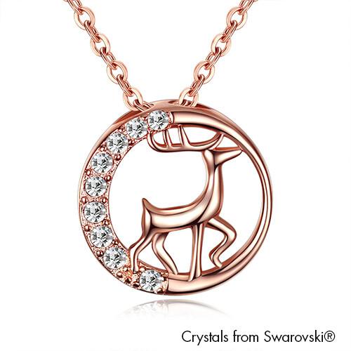 LUSH Reindeer Necklace