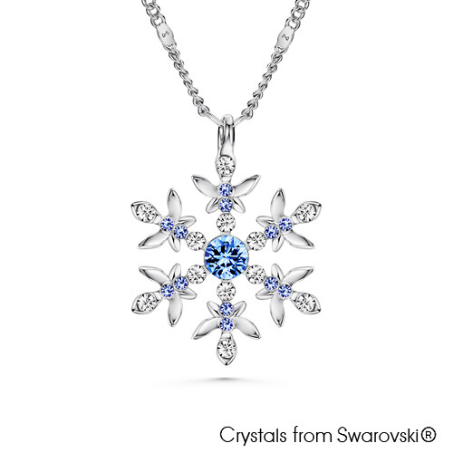 LUSH Snowflake Necklace