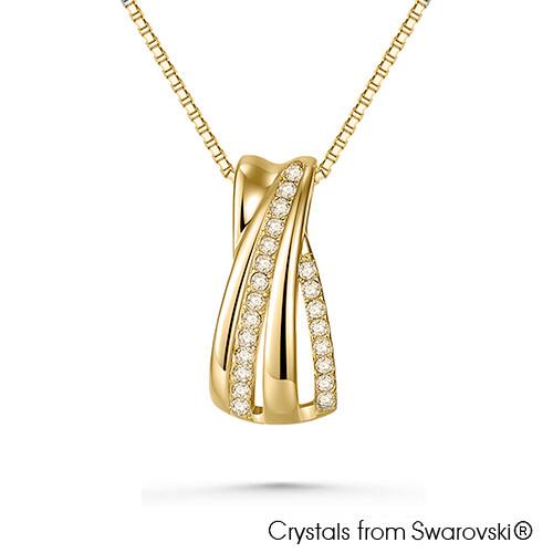 LUSH Gwyneth 18K Gold Plated Necklace