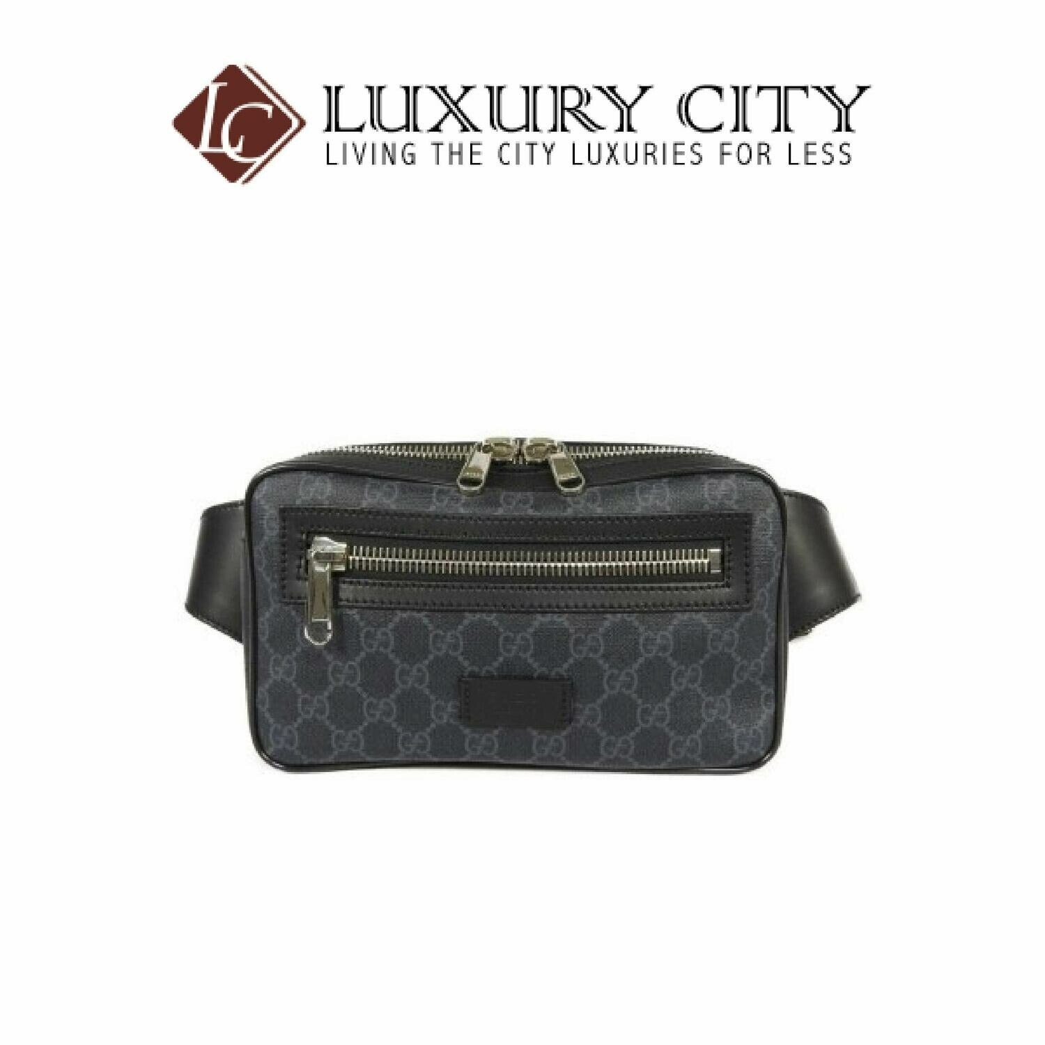 [Luxury City] Gucci GG Black Belt Bag Gucci-474293