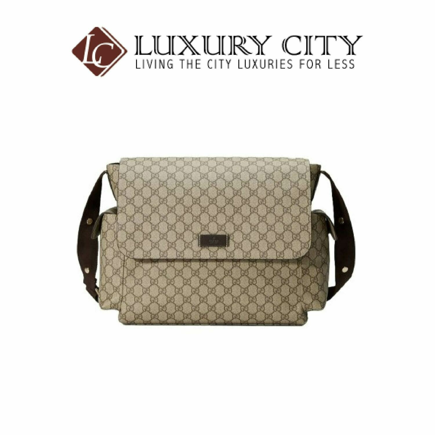 [Luxury City] Gucci GG Supreme Baby Bag Light Brown/Sand Gucci- 211131