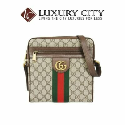 [Luxury City] Gucci Ophidia GG Small Messenger Bag Light Brown/Sand Gucci- 547926