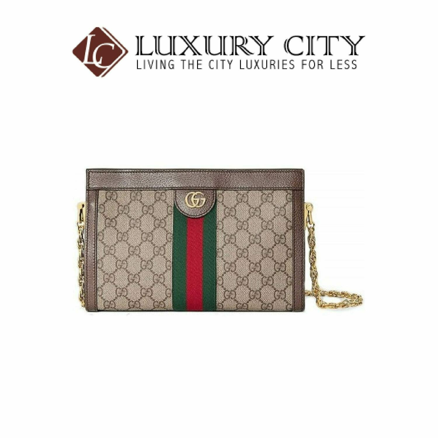 [Luxury City] Gucci Ophidia GG Small Shoulder Bag Light Brown/Sand Gucci- 503877