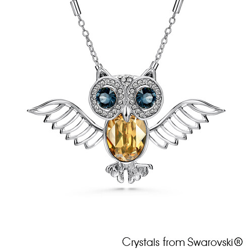 LUSH Wisdom Owl Necklace