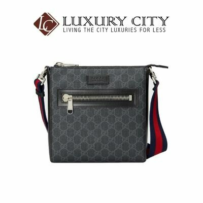 [Luxury City] Gucci GG Black Small Messenger Bag Black Gucci- 523599