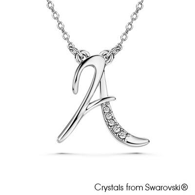 LUSH Alphabet A Necklace