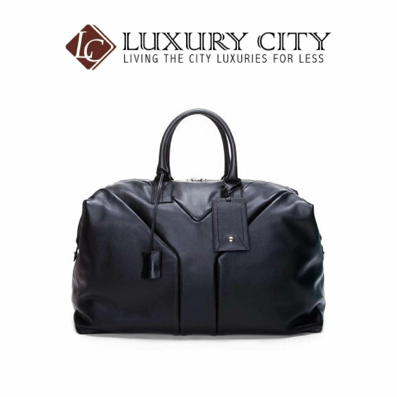 [Luxury City] Saint Laurent Full Leather Luggage