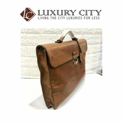 [Luxury City] Gucci Leather Business Bag GUCCI-271569213317 (Brown)