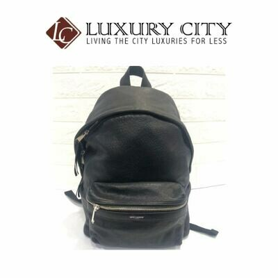 [Luxury City] Saint Laurent Full Leather Backpack-98738036