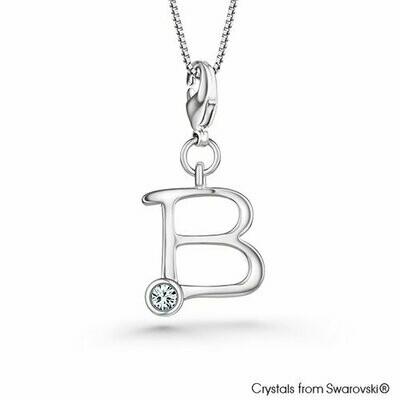 LUSH Alphabet B Charm Necklace