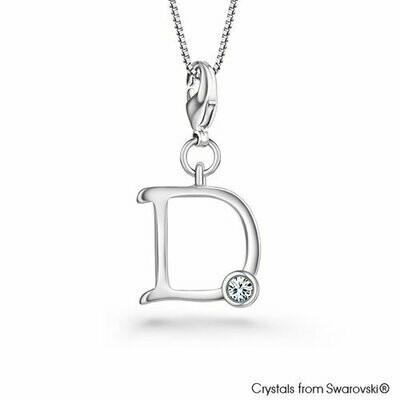 LUSH Alphabet D Charm Necklace