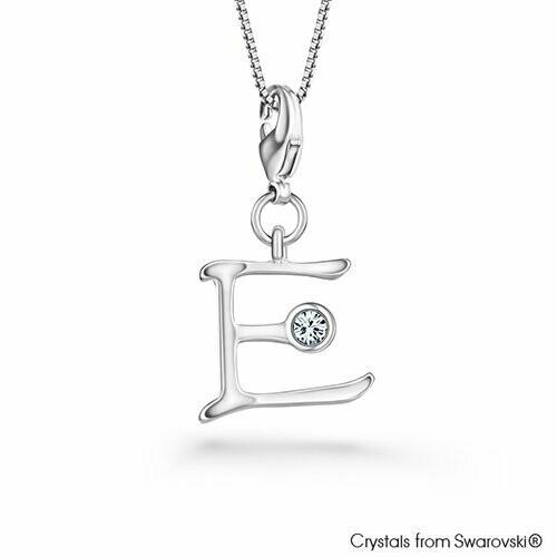LUSH Alphabet E Charm Necklace