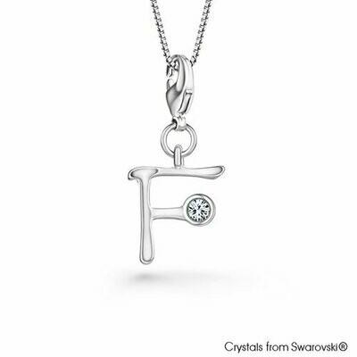 LUSH Alphabet F Charm Necklace