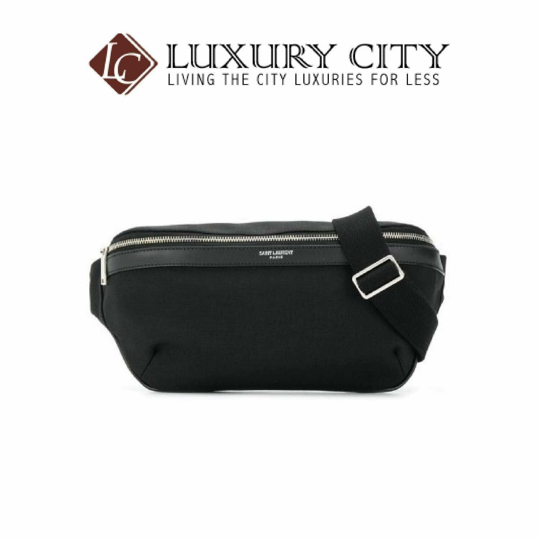 [Luxury City] Saint Laurent Classic Belt Bag Black YSL-557831