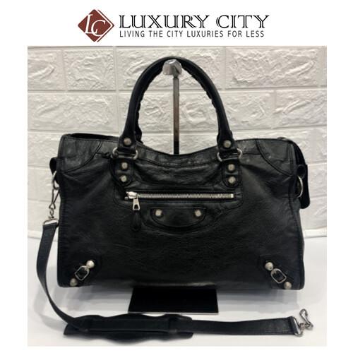[Luxury City] Preloved Authentic Balenciaga Classic City Shoulder Bag