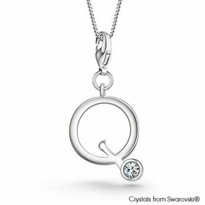 LUSH Alphabet Q Charm Necklace