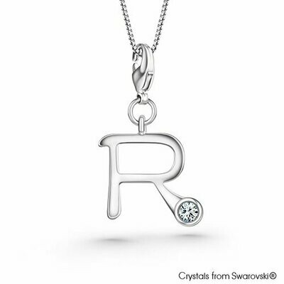 LUSH Alphabet R Charm Necklace